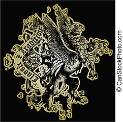 hjälmbuske, lejon, design