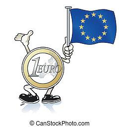 hjälp, euro