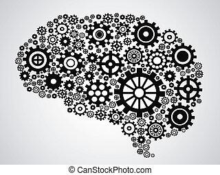 hjärna, drev