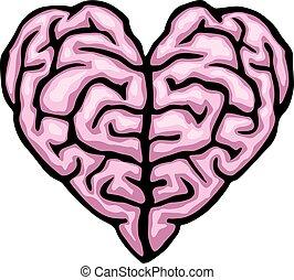 hjärna, hjärta