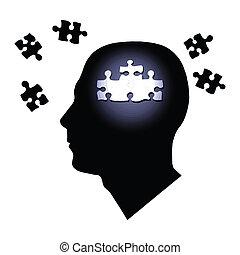 hjärna, problem