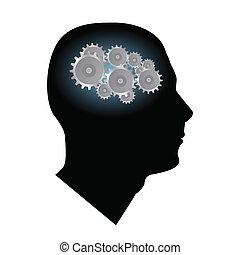 hjärna, utrustar