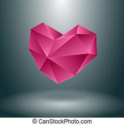 hjärta, begrepp, design