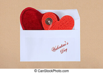 hjärta, begrepp, kärlek, symbol, valentinkort, photo., ...