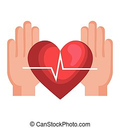hjärta, cardio, räcker