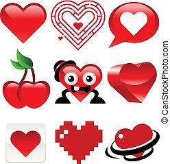 hjärta, design