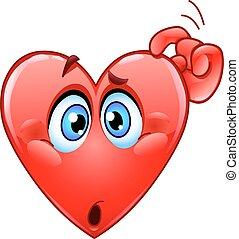 hjärta, förvirrat