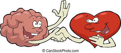 hjärta, hjärna