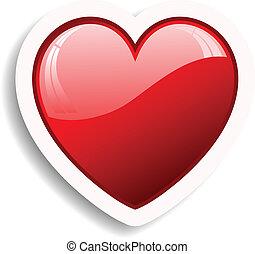 hjärta, ikon