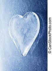 hjärta, is