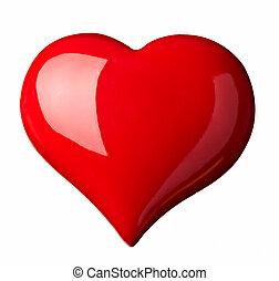 hjärta, kärlek, form