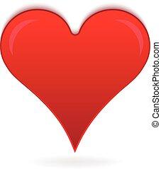 hjärta, kärlek, logo