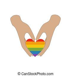 hjärta, kärlek, samma, räcker