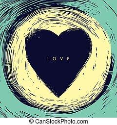 hjärta, kort