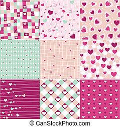 hjärta, mönster