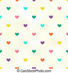 hjärta mönstra, bakgrund, seamless