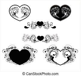 hjärta mönstra