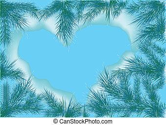 hjärta, natur