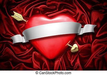 hjärta, pil