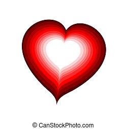 hjärta, rödvin
