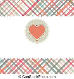 hjärta, romantisk, eps, 8, template., kort