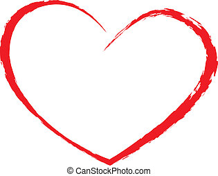 hjärta, teckning