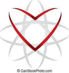 hjärta, universum