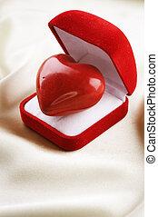 hjärta, valentinbrev