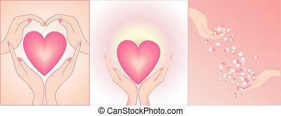 hjärtan, räcker