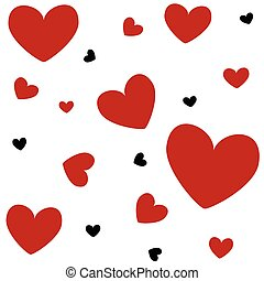 hjärtan, valentinkort dag kort
