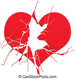 hjärteförkrossada