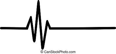 hjärtslag, pulsera