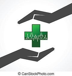 hjärtslag, räddning, familj, med