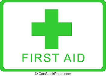 hjælpemiddel, først