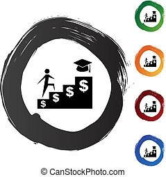 hjælpemiddel, finansielle, student