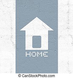 hjem, ikon