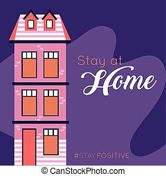 hjem, ophold, covid19, meddelelse