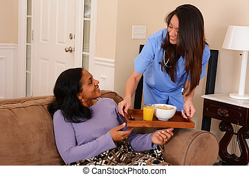 hjem, sundhed omsorg