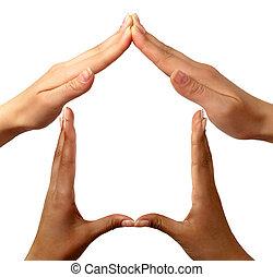 hjem, symbol