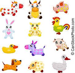 hjemmemarked, legetøj dyr