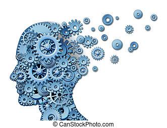 hjerne, skade