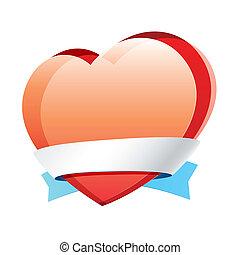 hjerte, bånd