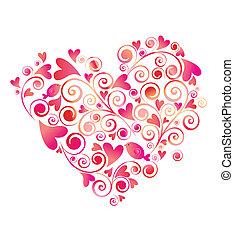hjerte form