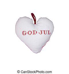 hjerte, gud, jul