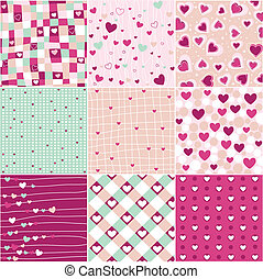 hjerte, mønstre