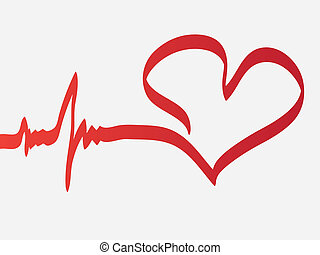 hjerte, slå