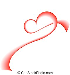 hjerte, vektor