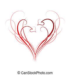 hjerter, baggrund