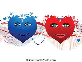 hjerter, valentine