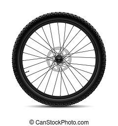 hjul, cykel